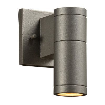 PLC Lighting Troll-I 1 Light Outdoor Sconce Bulb Type: Incandescent, Finish: Bronze