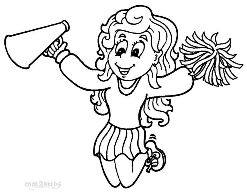 Http colorings co cheerleader coloring pages cheerleader