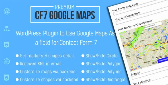 Google Maps Extension for Contact Form 7 httpscodeholdernet