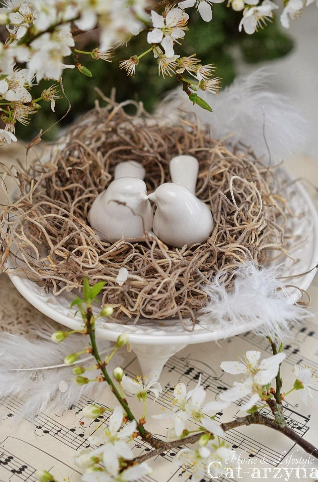 Shabby easter decoration perfect easter ostern for Deko ostern
