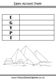 Plot Pyramid Worksheet | Ancient Egypt Worksheets - Kids ...