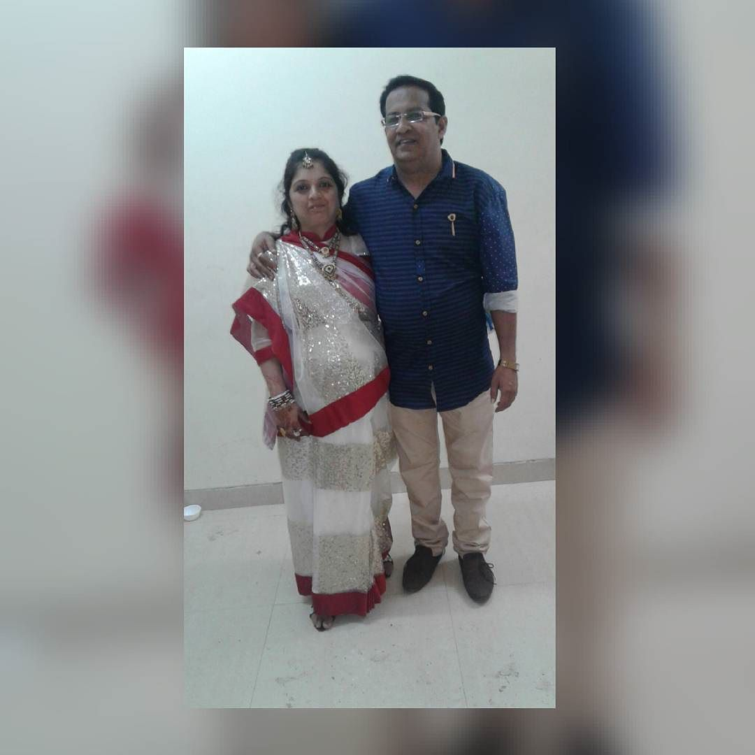 Happy anniversary too those couple who did each n every thing for our double happinessluv u mum dad----- by anish_nirankari