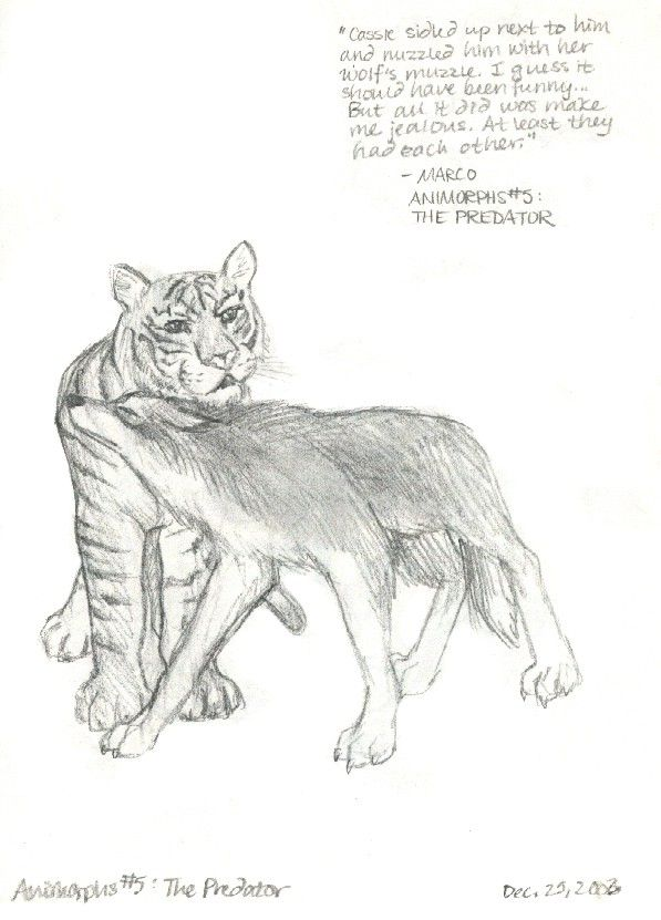 Animorphs 5 The Predator By Juhfreak On Deviantart Animorphs In