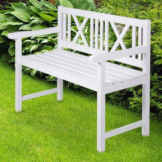 Gartenbank weiß 2 sitzer  Gartenbank Weiß 2 Sitzer | My blog