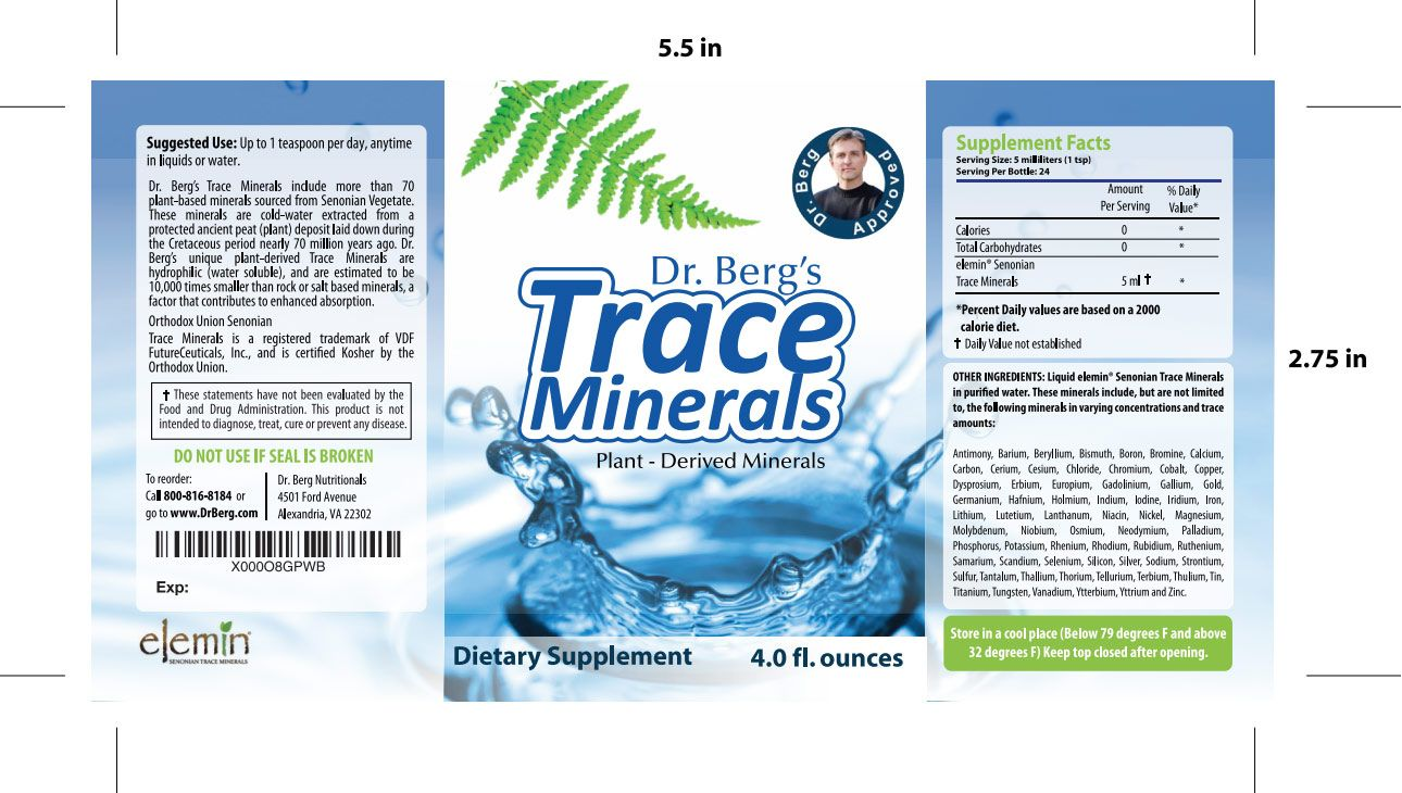 Dr. Bergs Trace Minerals What are Trace Minerals? Trace