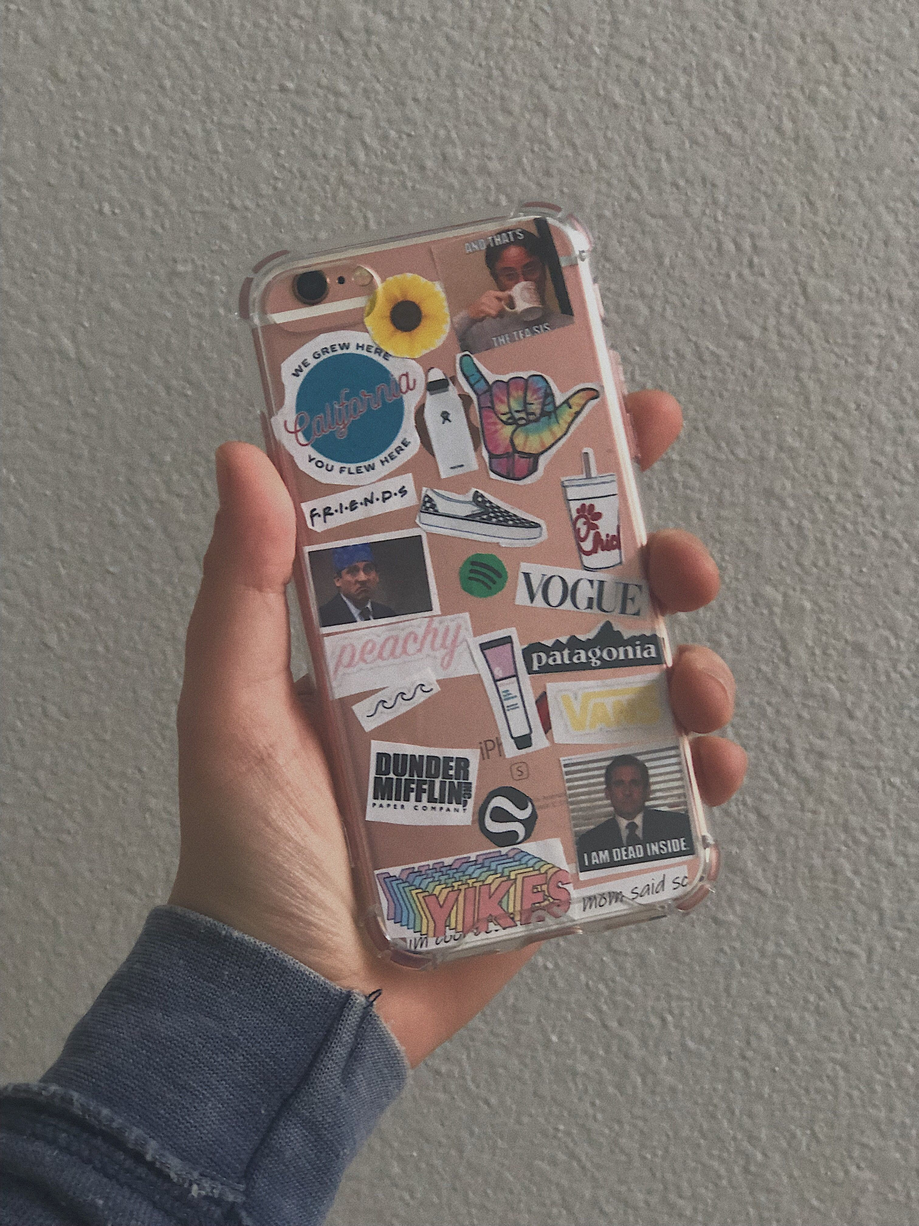 Pin by riley🌙 on stickers ☆ | Bff phone cases, Diy phone ...