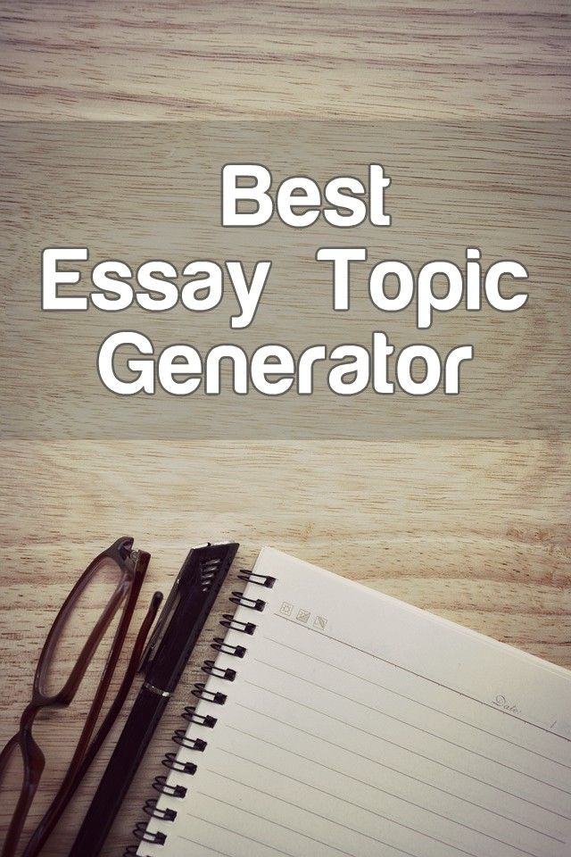 Essay Topic Generator For Free  Advancedwritercom News  Essay Topic Generator For Free Business Plan Writing Services Nyc also Informative Synthesis Essay  Types Of English Essays