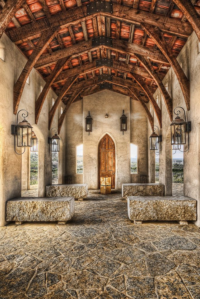 Chapel Dulcinea Is A Open Air Wedding Located On The Wizard Academy