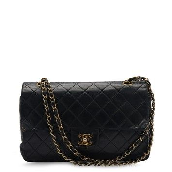 d26a1dc00dcb Get the trendiest Clutch of the season! The Chanel Classic Flap Lambskin  Medium Black Baguette is a top 10 member favorite on Tradesy.