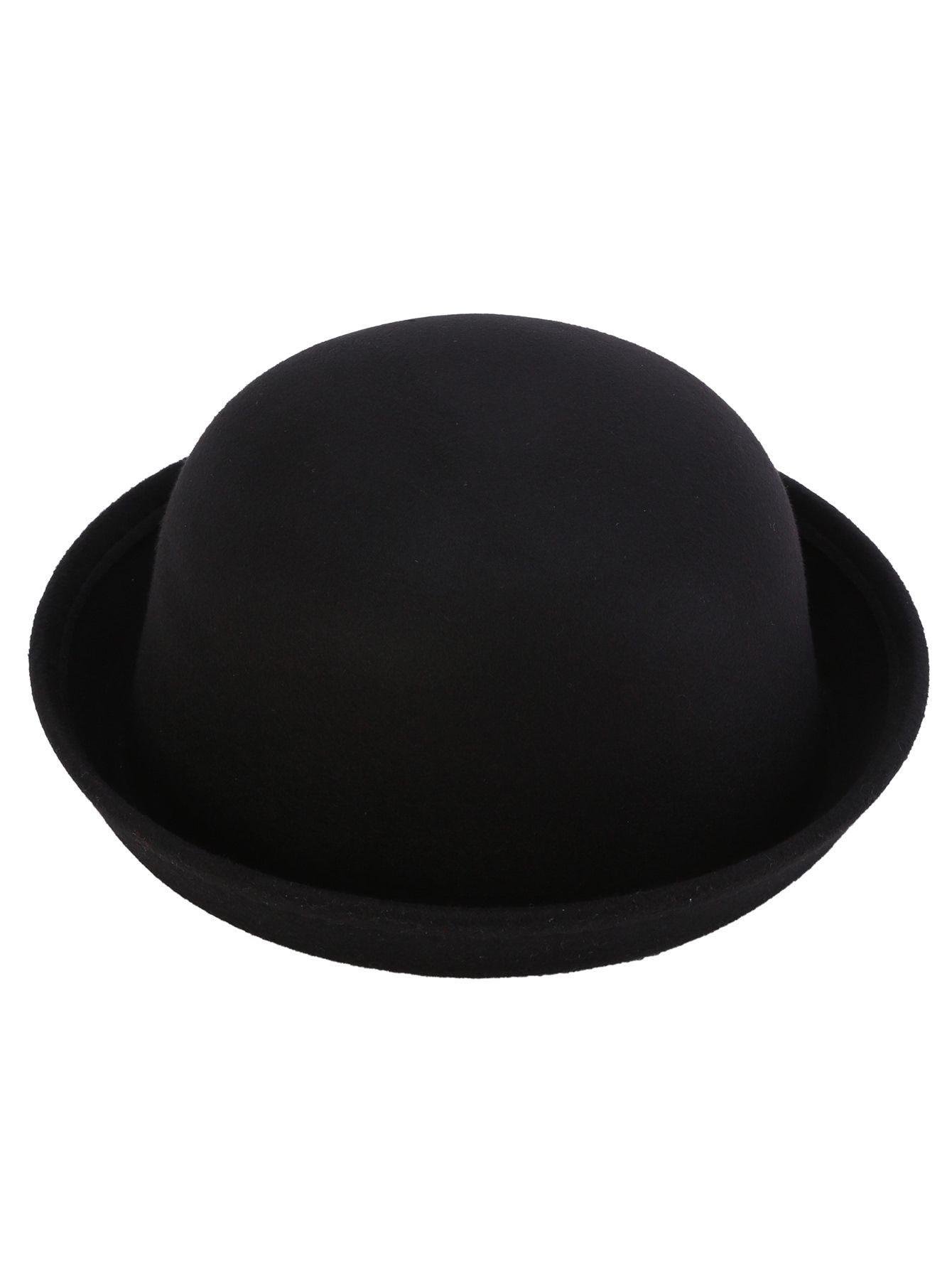 a02f48514c766 Shop Black Vintage Felt Bowler Hat online. SheIn offers Black Vintage Felt  Bowler Hat   more to fit your fashionable needs.