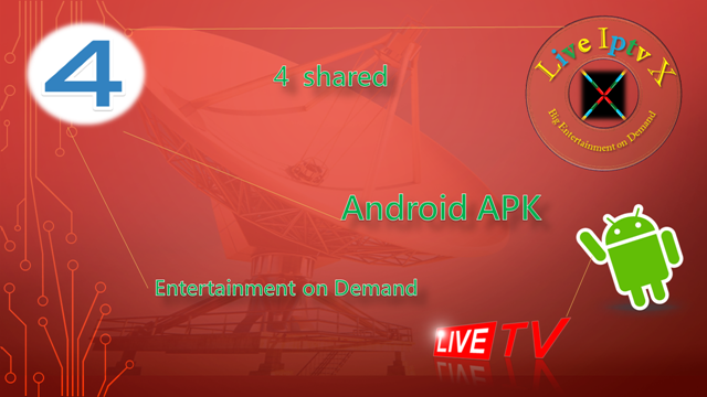 Best Streaming TV Online - 4shared APK For Android Device
