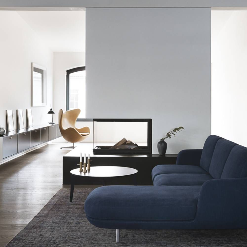 Un canapé bleu marine | 6 | Pinterest | Salons