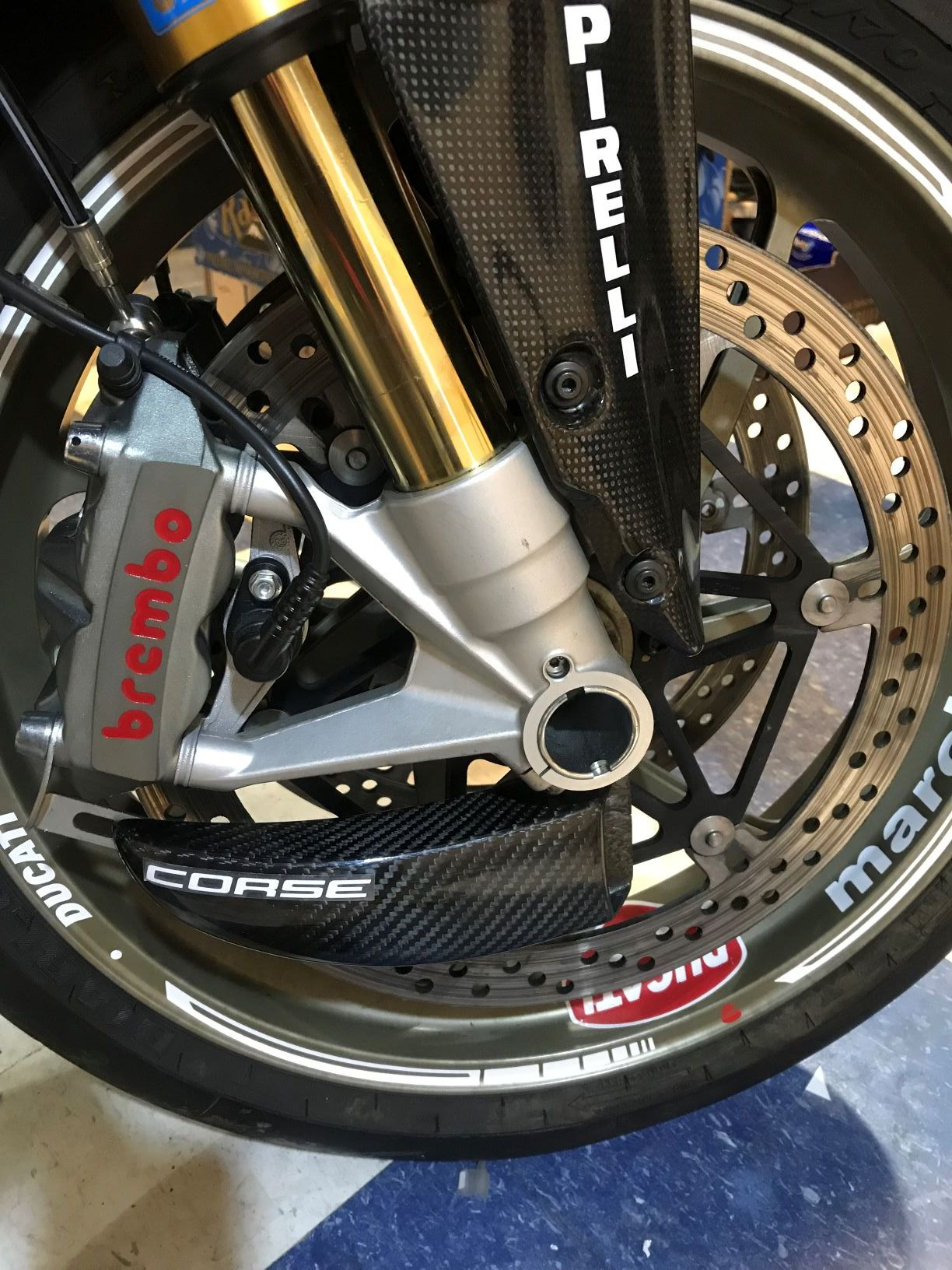 New Carbon Fiber Brake Cooling Ducts On Ducati 1198s In 2020 Ducati Ducati 1198s Ducati 1198