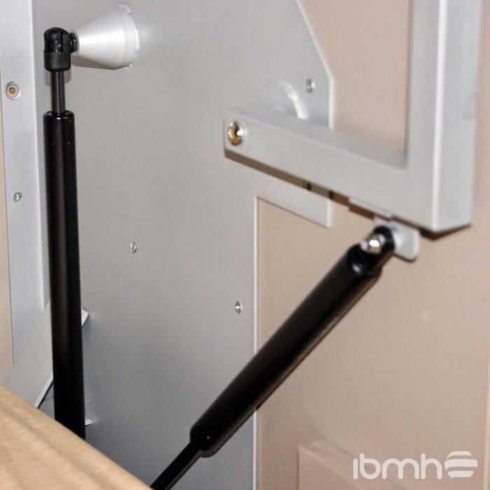 Importar resortes de gas para camas de arc n y canap de - Herrajes para canapes ...