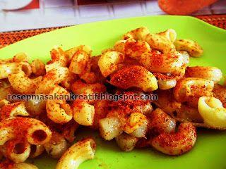Resep Cilor Kotak Makaroni Enak Jajanan Pedas Resep Resep Masakan Indonesia Resep Makanan