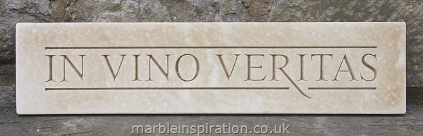 Have a look at this Latin Phrase Wall Plaque In Vino ...