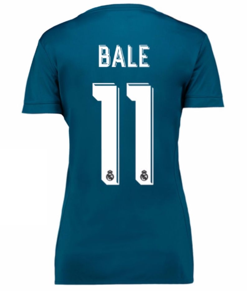 sports shoes ec82f 9ae4c Real Madrid 2017-18 Third Kit Women BALE | cheap Real Madrid ...