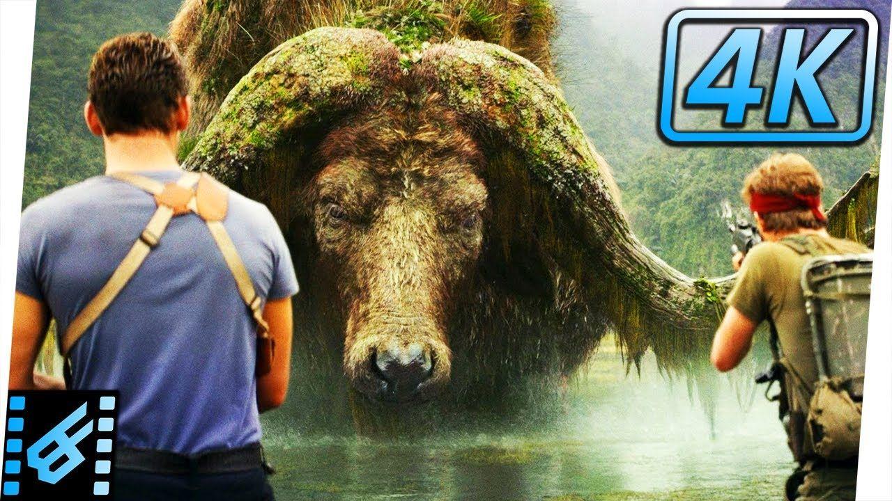 Giant Buffalo Scene Sker Buffalo Kong Skull Island 2017