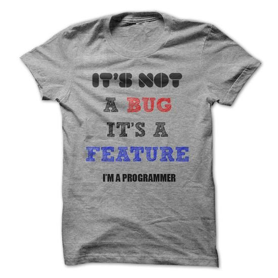 It/'s A Bug Not A Feature Funny Geek IT T-Shirt