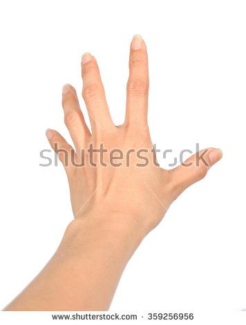 Hand Women Grab Posting Isolate On White Background How To Draw Hands Hand Pose Arm Drawing