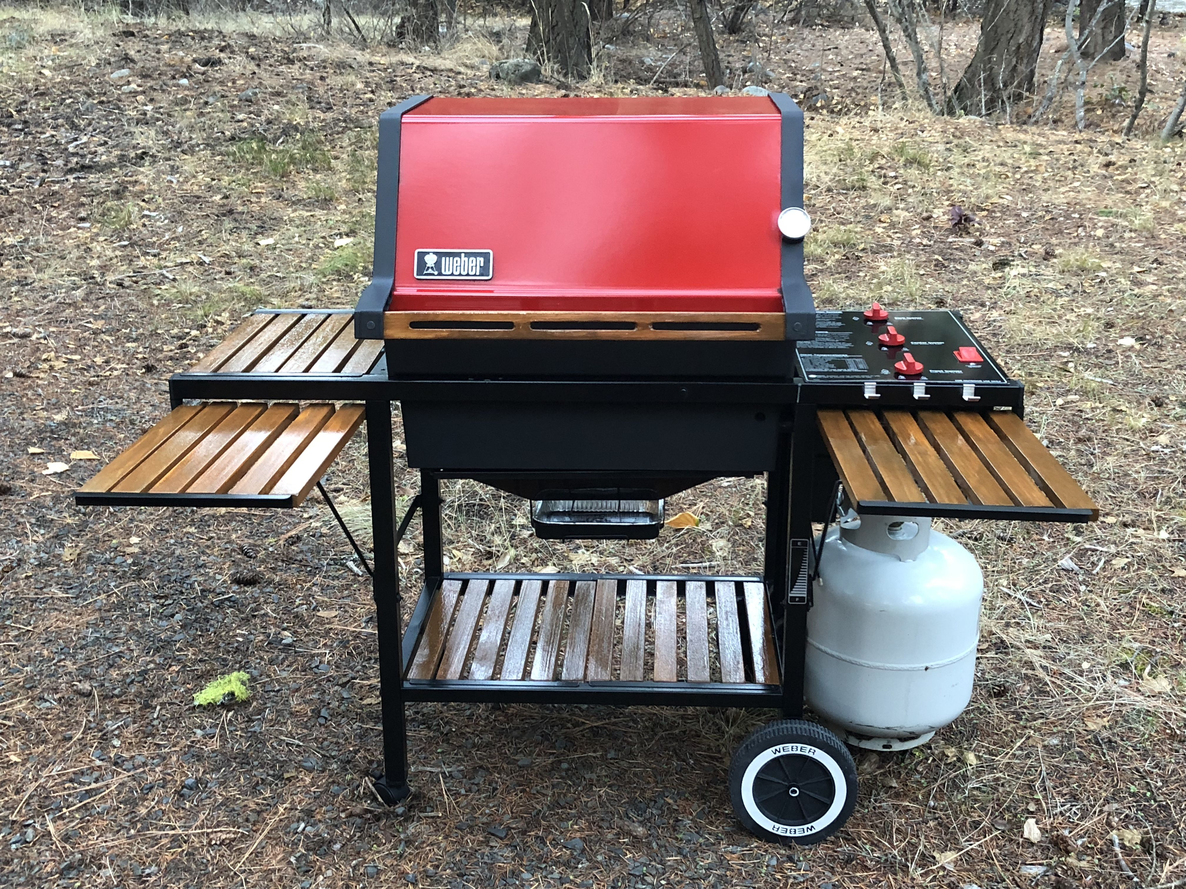 My Latest Mod To A 1000 Bbq Table Gas Grill Weber Grill