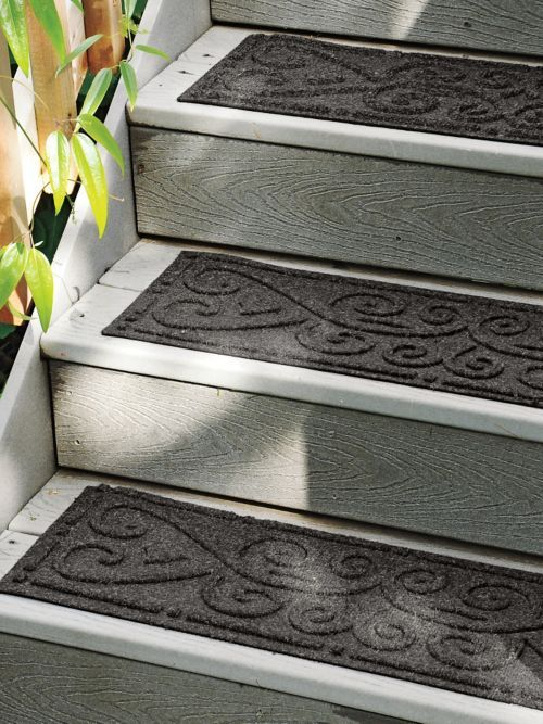 The Elegant Look Of Carpet With Dirt Stopping, Nonslip Protection. Unlike  Slippery Rubber