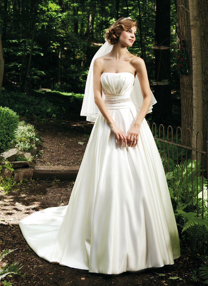 Sincerity wedding dress style 3675 Strapless soft sweetheart neck ...