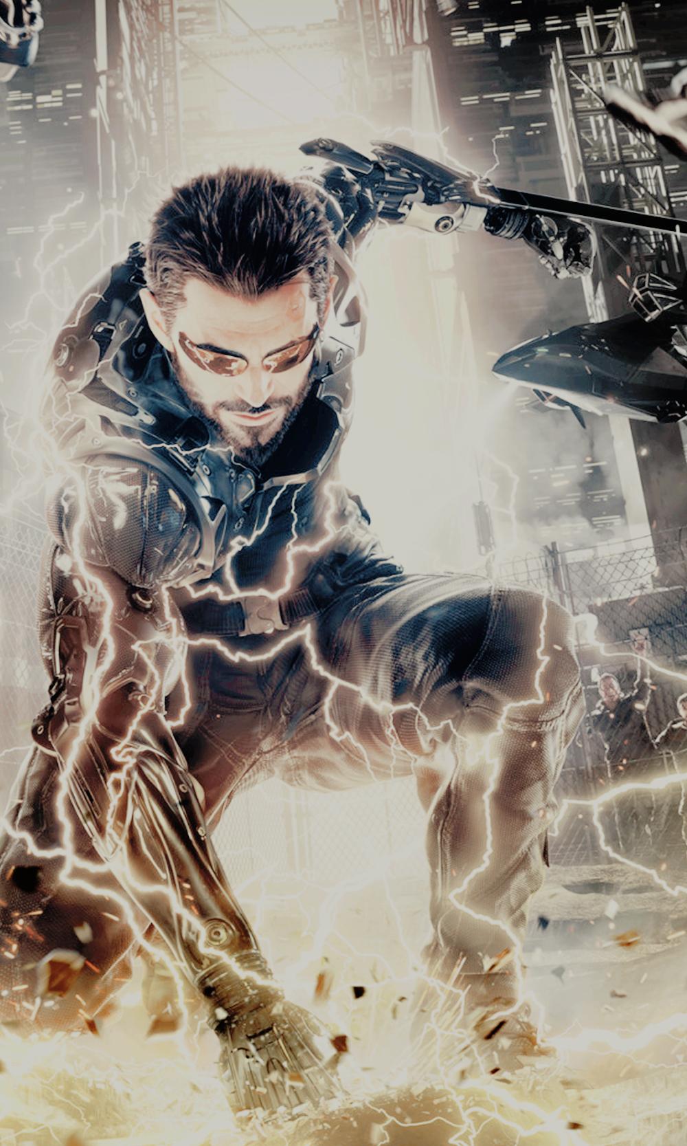 Deus Ex Mankind Divided Adam Jensen Phone Wallpapers Lockscreens ノ ヮ ノ ゚ ゚ Click On The Images For Deus Ex Mankind Divided Deus Ex Mankind Deus Ex