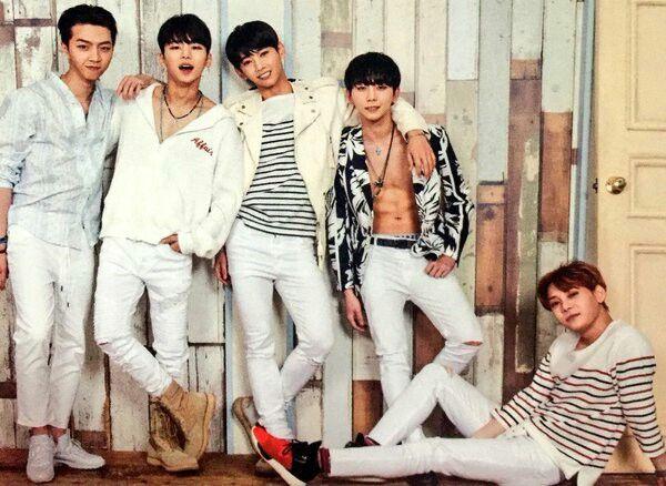 MYNAME 1st story-junQ, insoo, seyong, chaejin & gunwoo♡