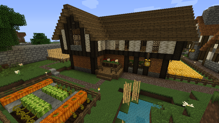 Quaint Meval Town (Download added!) - Screenshots - Show Your ... on mine house designs, minecraft pc house designs, epic house designs, redstone house designs, glass house designs, minecraft survival house designs, minecraft sports house designs, best minecraft house designs, mansion house designs, minecraft ps3 house designs, play house designs, minecraft pocket edition house designs,