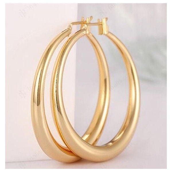Women/'S Hoop Earrings Women Earrings gold earrings earrings women 18K Rose