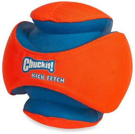 Chuck It Chuckit Kick Fetch Small Dog Toy Orange Small Small