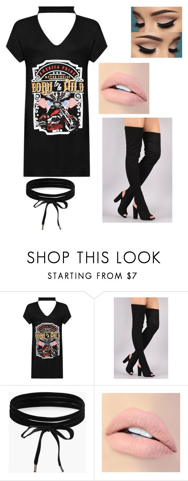 """""""Trends"""" by katelauren2903 ❤ liked on Polyvore featuring WearAll, Boohoo and Jouer"""