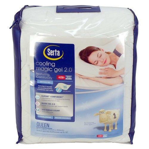 Serta Cooling Magic Gel 2 0 Mattress Pad Comfort Mattress