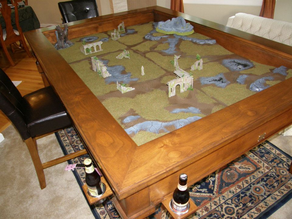 A Custom Made, Made In #Colorado Gaming Table Is The Perfect #gift
