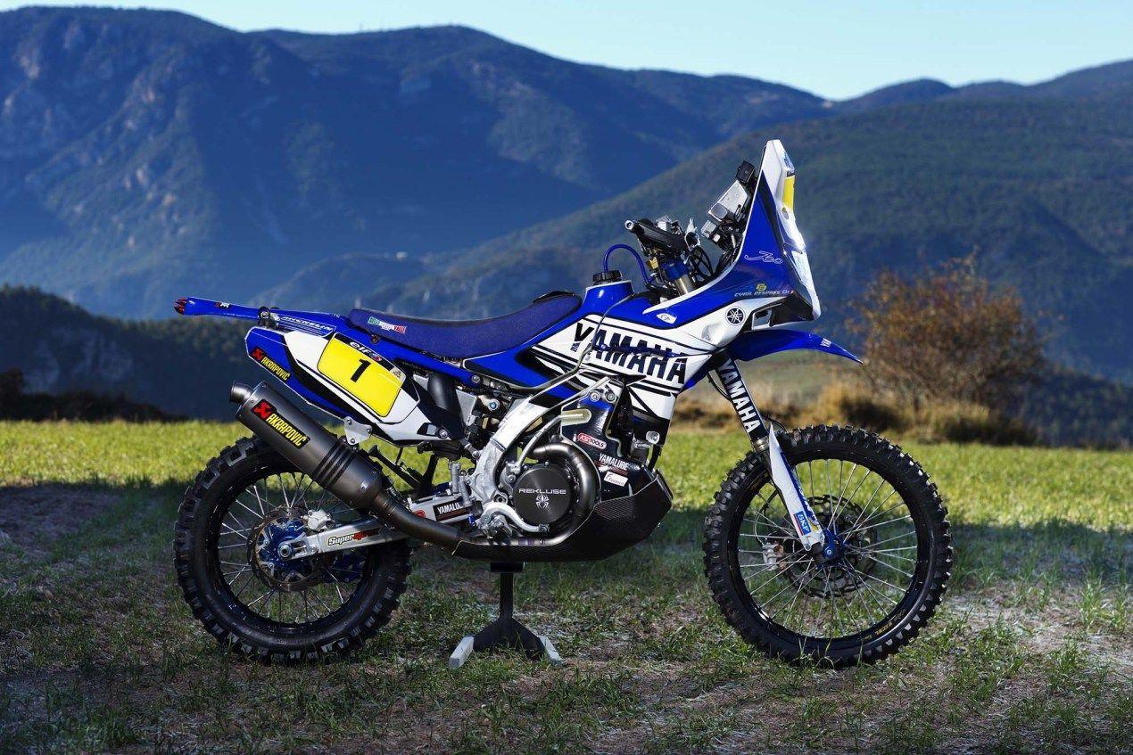 Photos Cyril Despres & His Yamaha YZ450F Rally Race Bike