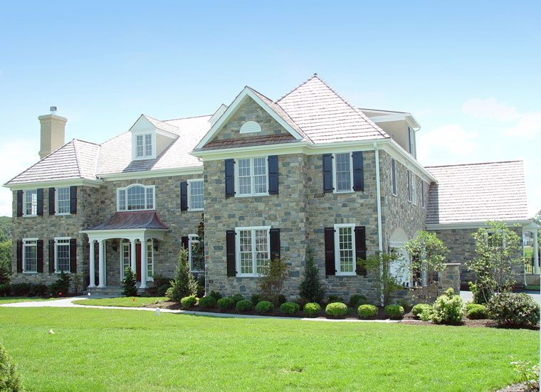 Interesting House Stone Faade Ideas : Houses With Stone Fronts