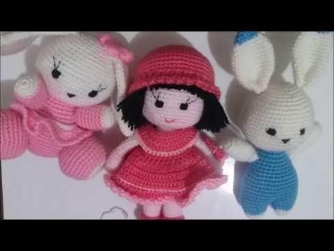 Crochet Bichon Frise Amigurumi Dog Diy Tutorial Youtube Muñecos