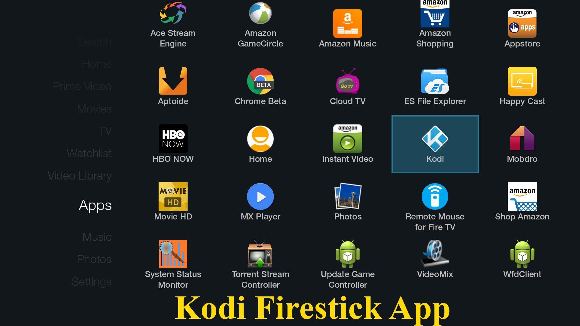 Kodi firestick app is a powerful software that provides