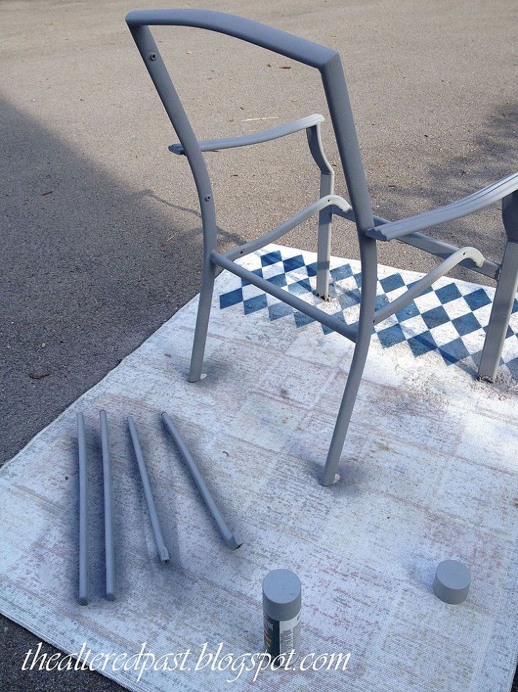 Redo Patio Sling Chairs For Under 25, Redoing Patio Furniture
