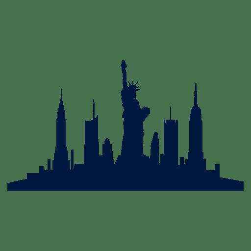 Skyline De La Ciudad De Nueva York Descargar Png Svg Transparente Nueva York Pintura Ciudad Dibujo Ciudad Silueta