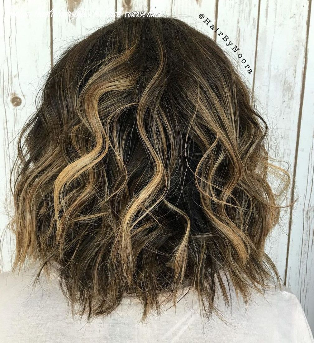 9 Medium Length Hairstyles For Thick Coarse Hair In 2020 Thick Hair Styles Haircut For Thick Hair Messy Bob Hairstyles