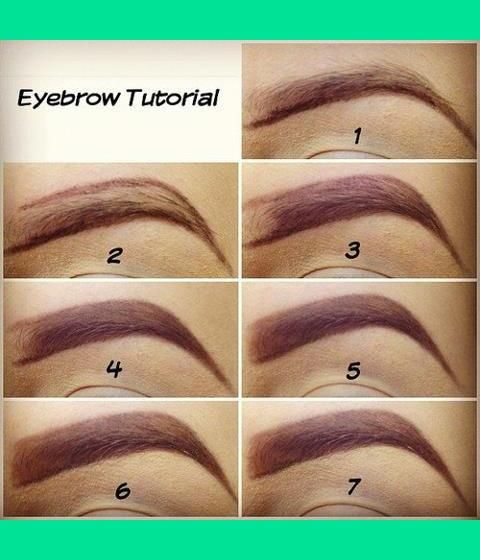 eyebrow tutorial without plucking - Google Search   afdorbd ...