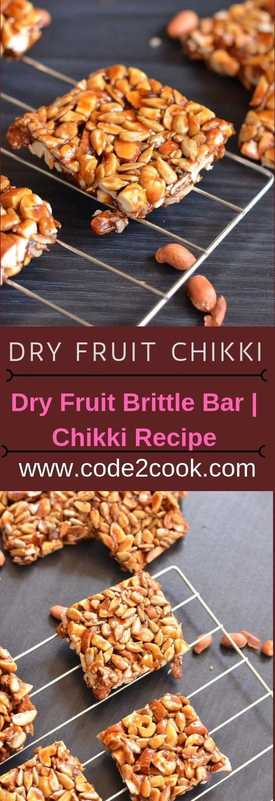 Dry fruit chikki is just another nutritious version of