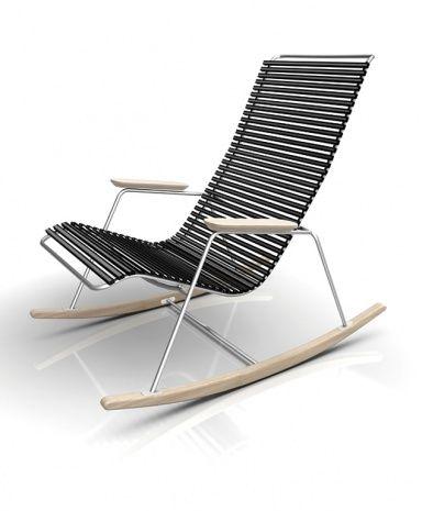 Outdoor Schaukelstuhl gartenmöbel aus holz schaukelstuhl click houe rocking