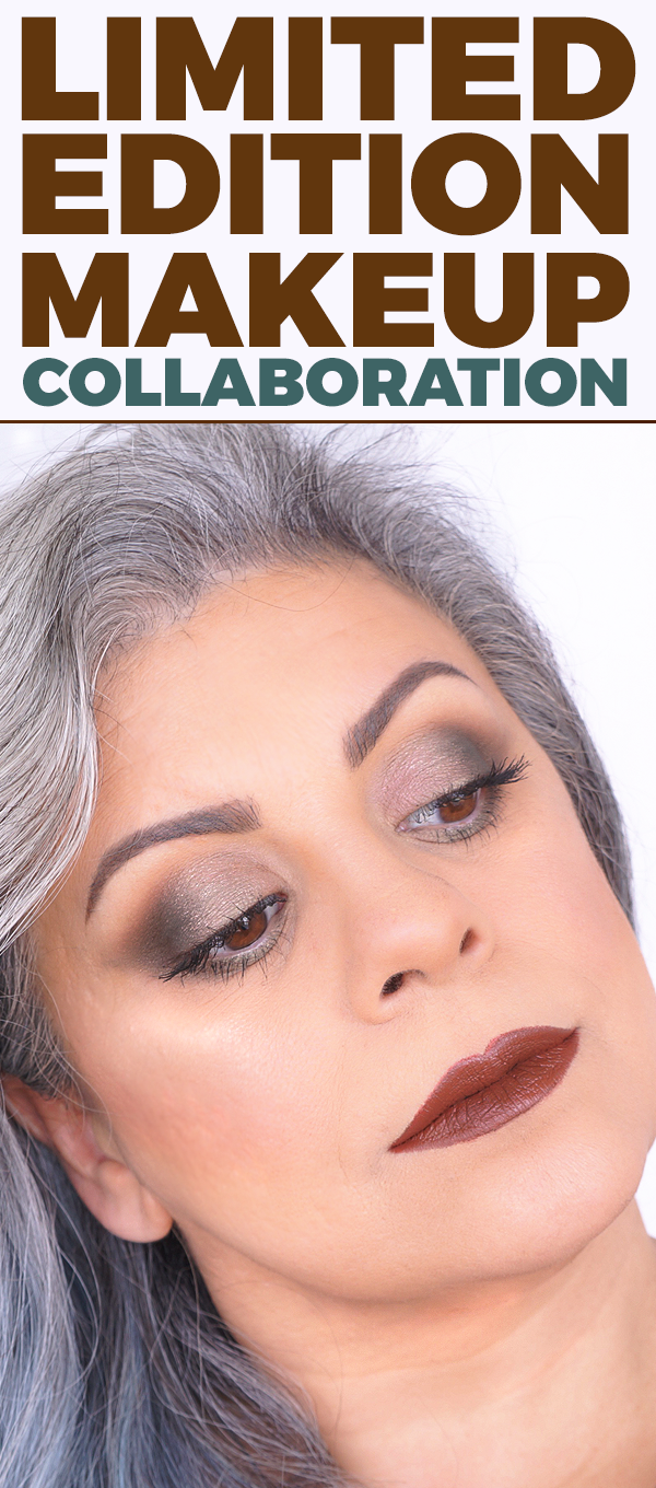 https://youtu.be/b5e5PrLfKbo: In this video I use the Anastasia Beverly Hills Self-Made Palette. I  wanted to create a look that compliments gray hair.