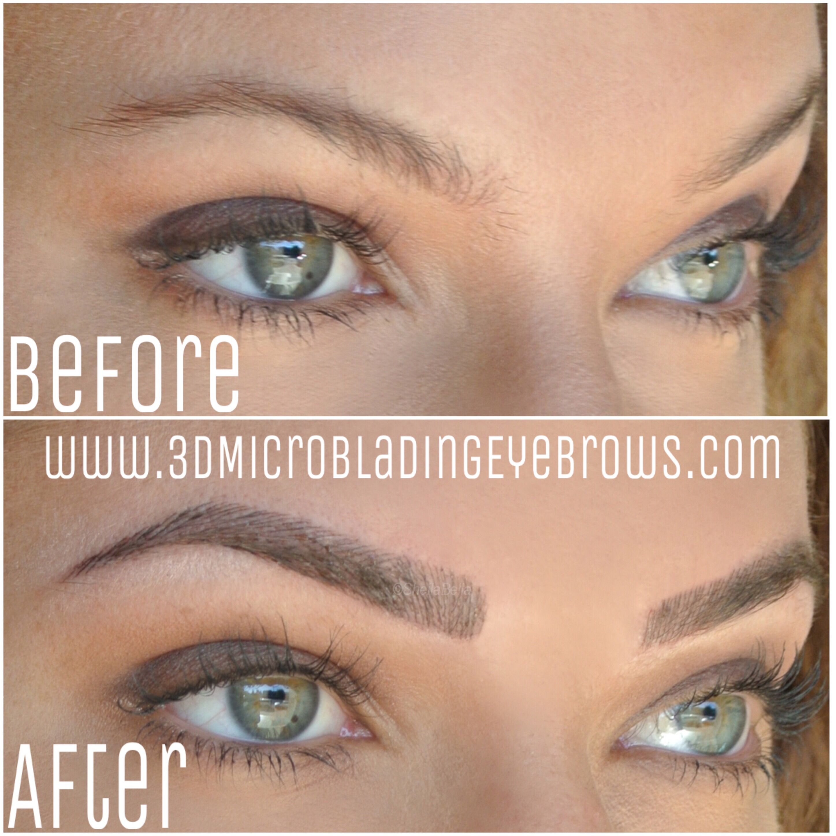 3D Microblading Eyebrows by wwww.3DMicrobladingEyebrows