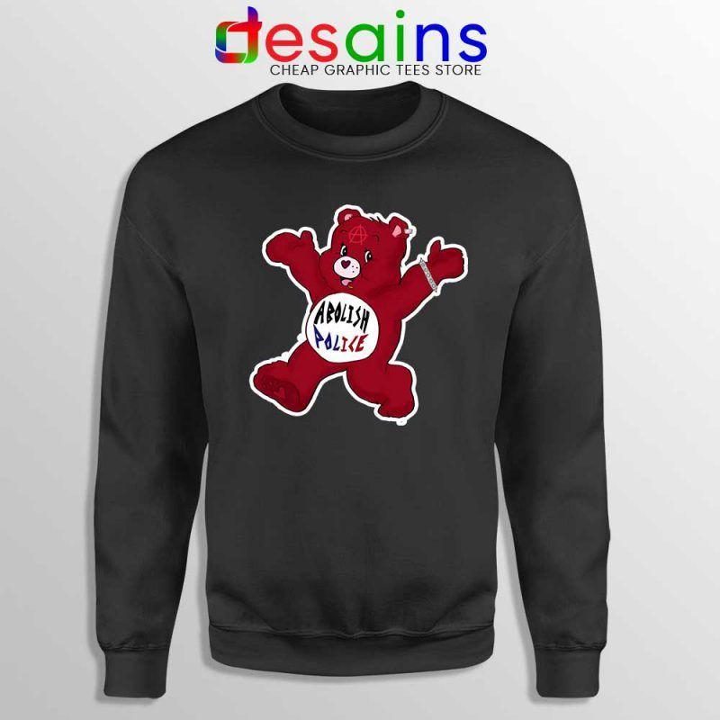 Bear Abolish The Police Sweatshirt Charities Blm Sweaters S 3xl Police Sweatshirt Sweatshirts Personalized Sweater