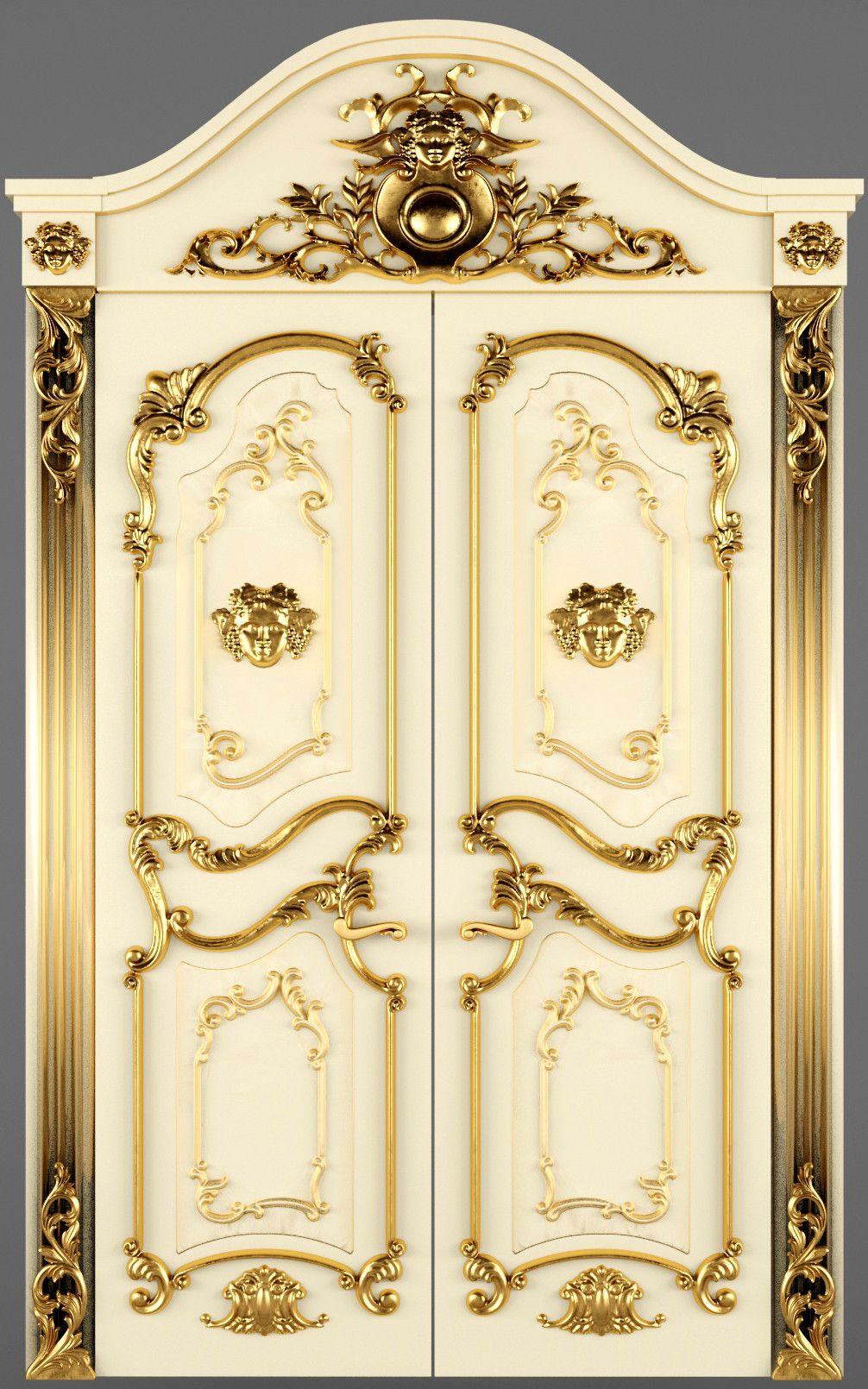 3d luxury classic baroque carved model | motifs | Pinterest | 3d ...