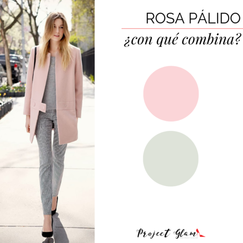 Rosa Claro Con Qué Tonos Combina Project Glam Combinar Vestido Rosa Palo Palo De Rosa Blusas Rosa Palo